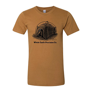 Whole Earth's Armadillo Tent T-shirt