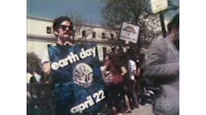 The first Earth Day Poster