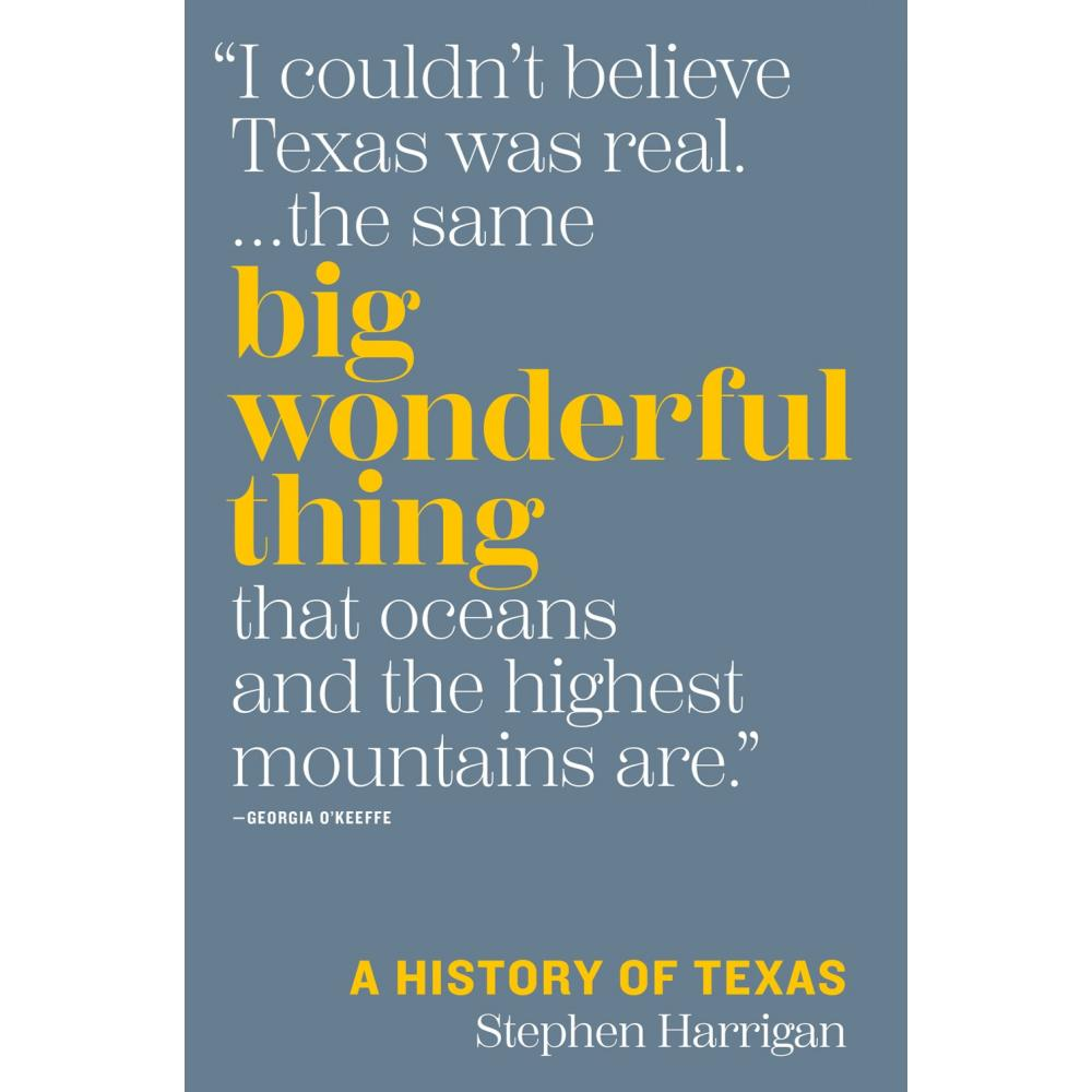 Big Wonderful Thing: A History of Texas