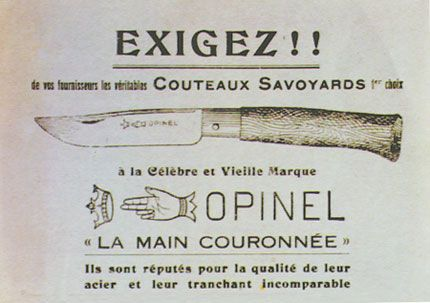 Opinel Ad