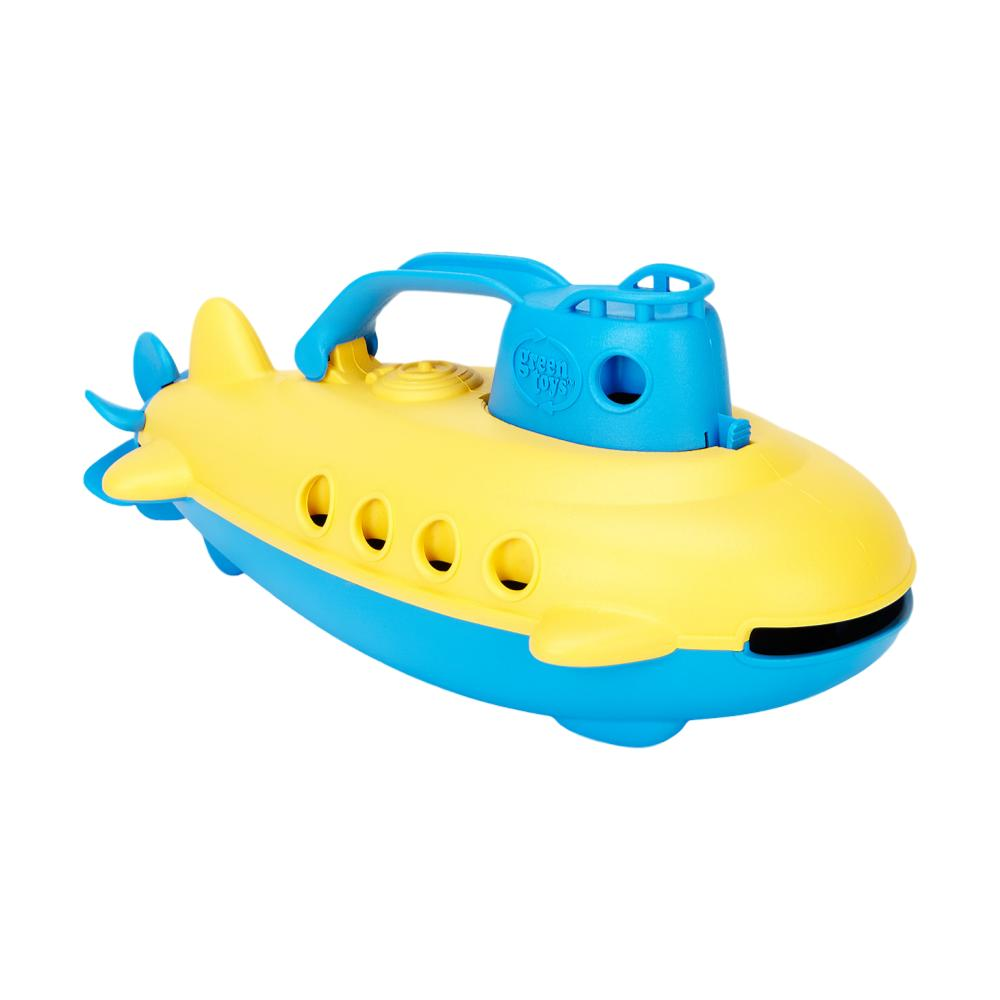 Green Toys yellow and green submarine