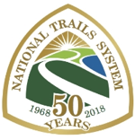 National Trails System 50 year Anniversary Logo
