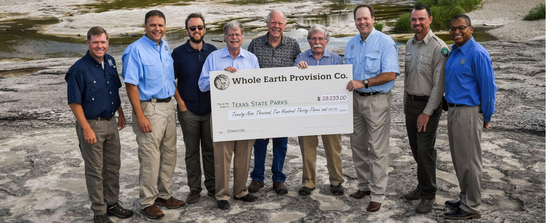 Texas State Parks Check Presentation