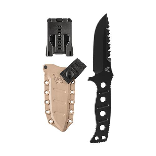 Benchmade 375BKSN Adamas Fixed Blade Knife