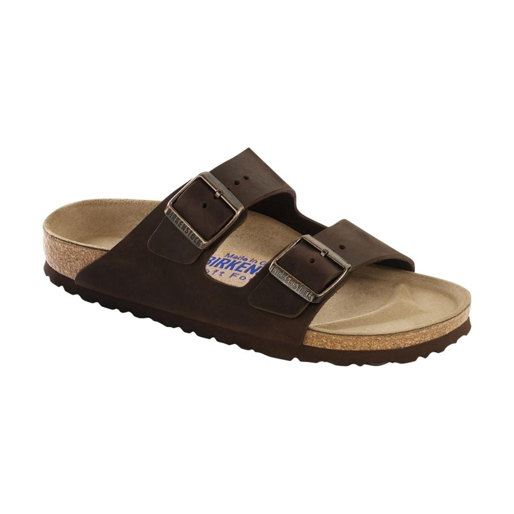 Birkenstock Women's Arizona Soft Footbed Oiled Leather Sandals  HABANA