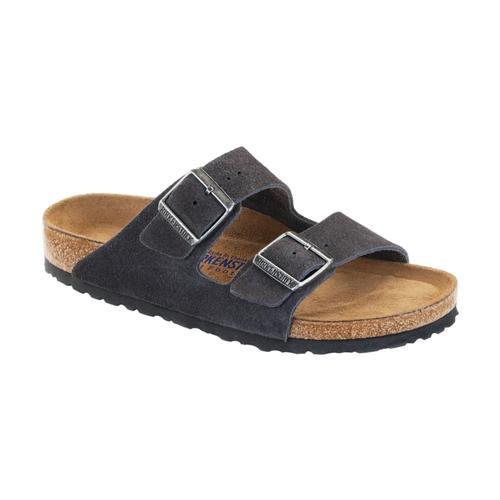Birkenstock Women's Arizona Soft Footbed Suede Sandals