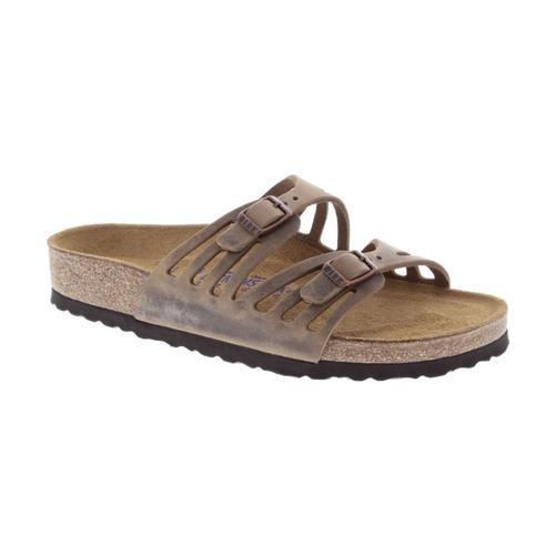 Birkenstock Women's Granada Soft Footbed Oiled Leather Sandals