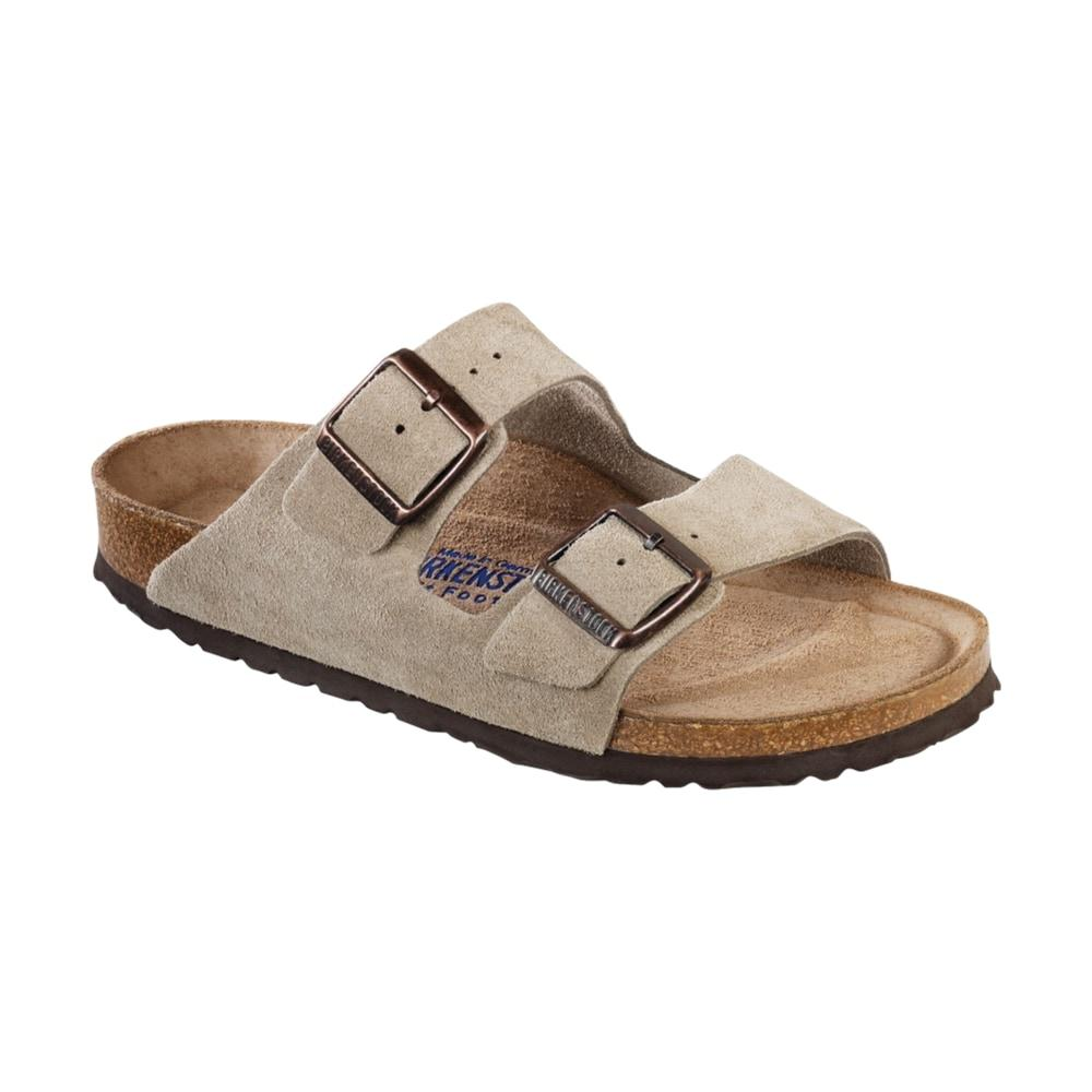 Birkenstock Women's Arizona Soft Footbed Suede Sandals  TAUPESD