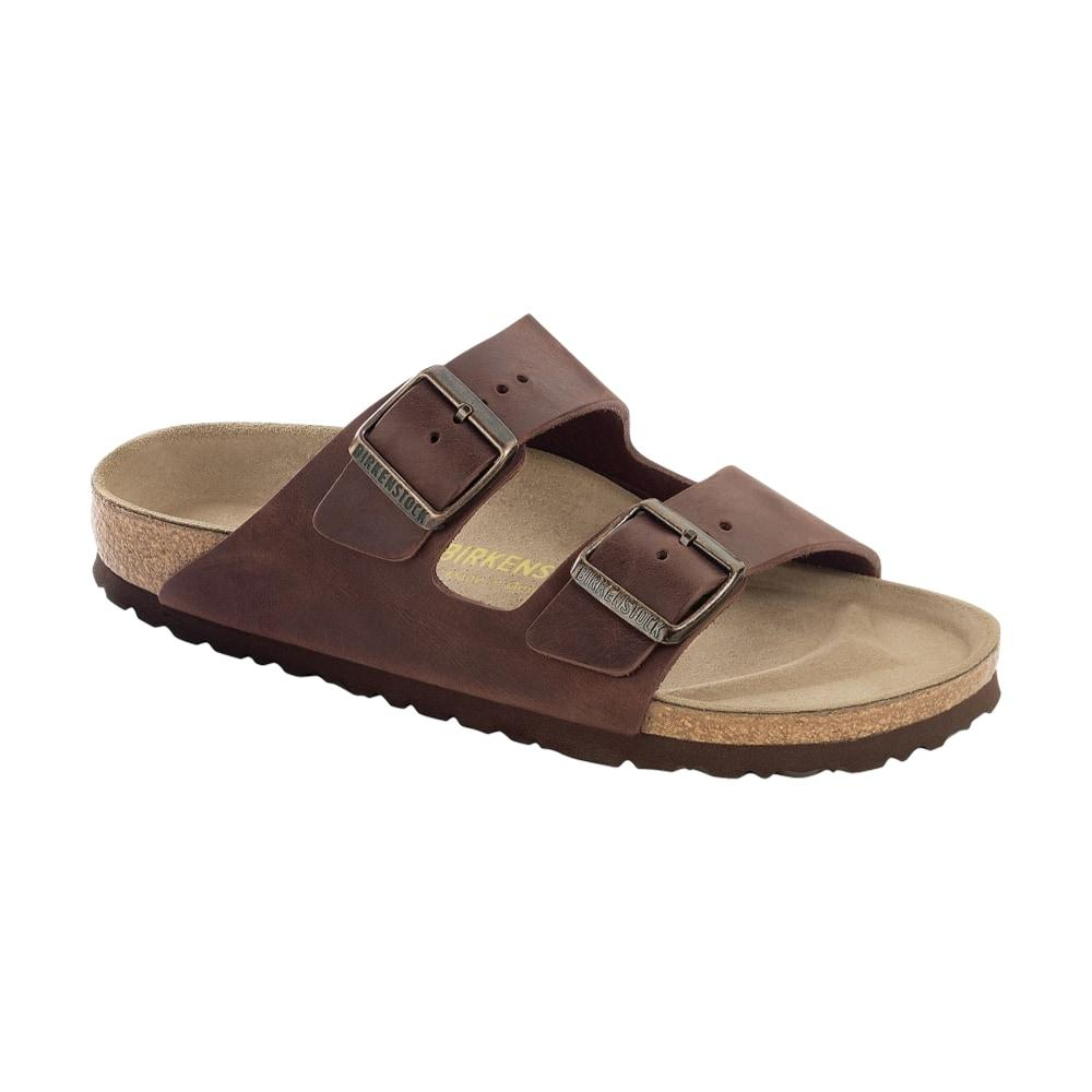 Birkenstock Men's Oiled Leather Soft Footbed Arizona Sandals HABANA