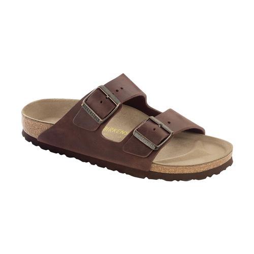 Birkenstock Men's Arizona Oiled Leather Sandals Habana