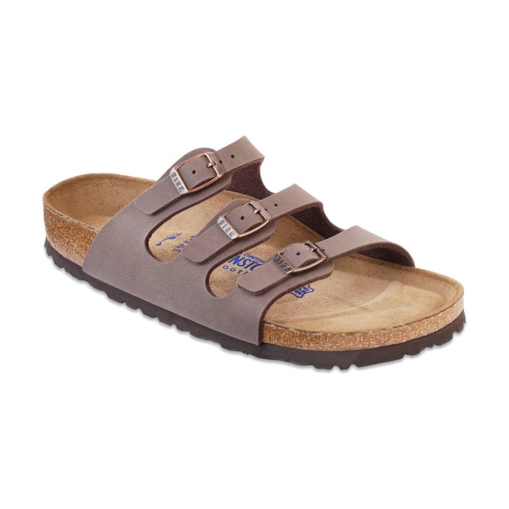 Birkenstock Women's Florida Soft Footbed Birkibuc Sandals MOCHA