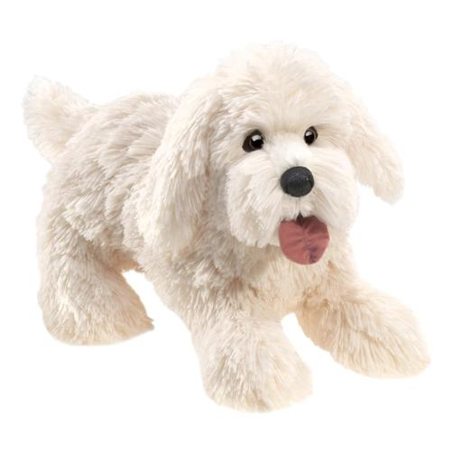 Folkmanis Panting Dog Hand Puppet