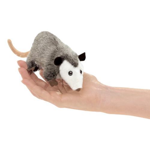 Folkmanis Mini Opossum Finger Puppet