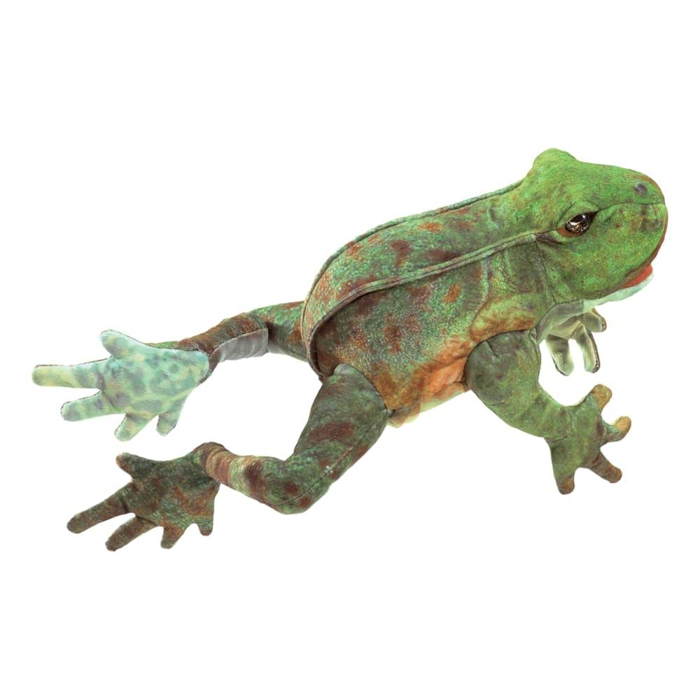 Folkmanis Jumping Frog Hand Puppet