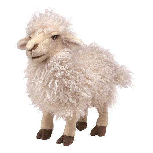Folkmanis Longwool Sheep Hand Puppet