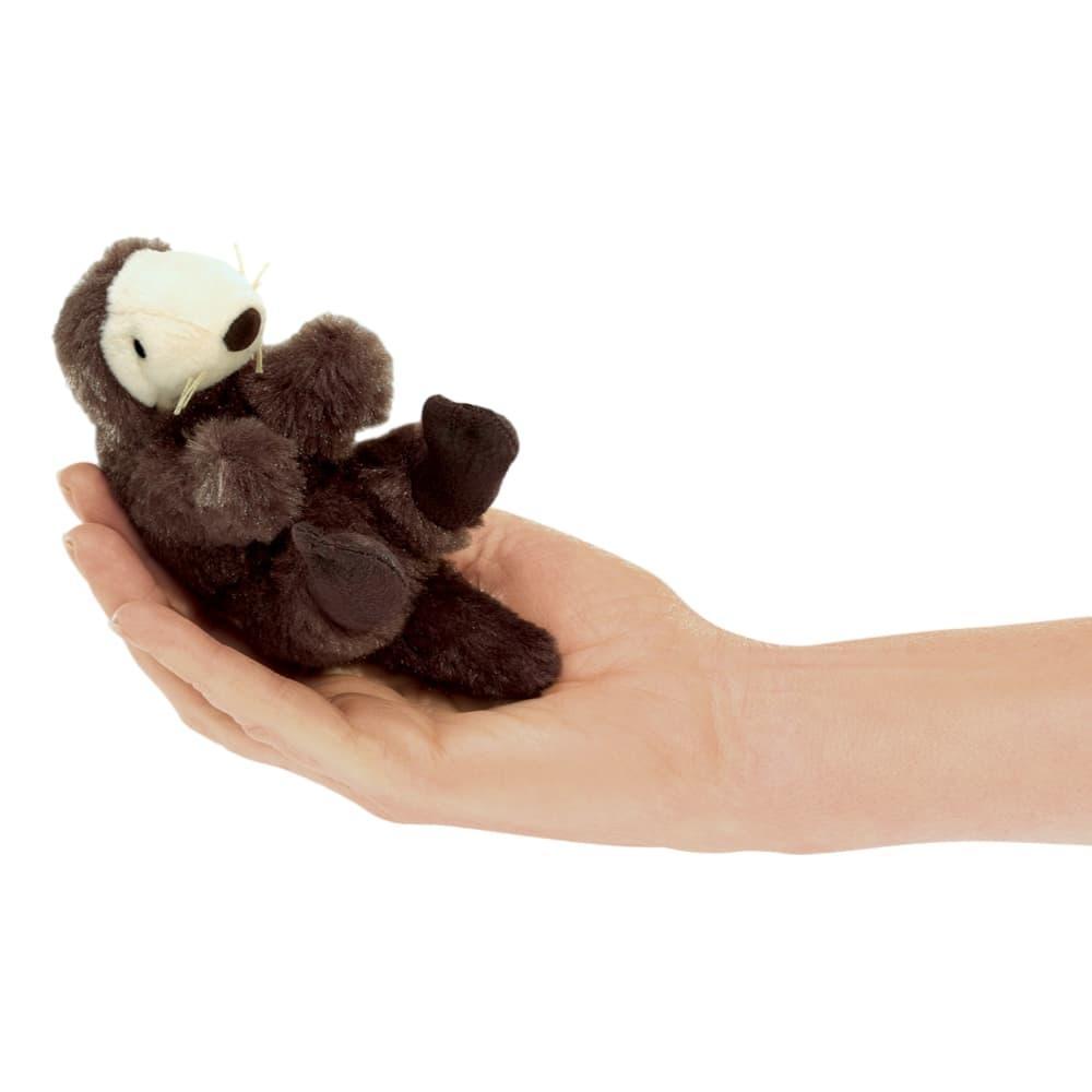 Folkmanis Mini Sea Otter Finger Puppet