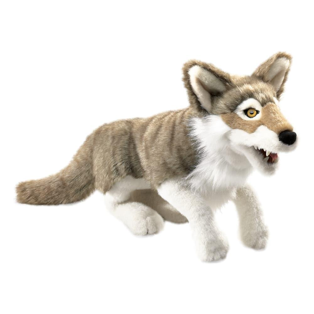 Folkmanis Gray Wolf Hand Puppet
