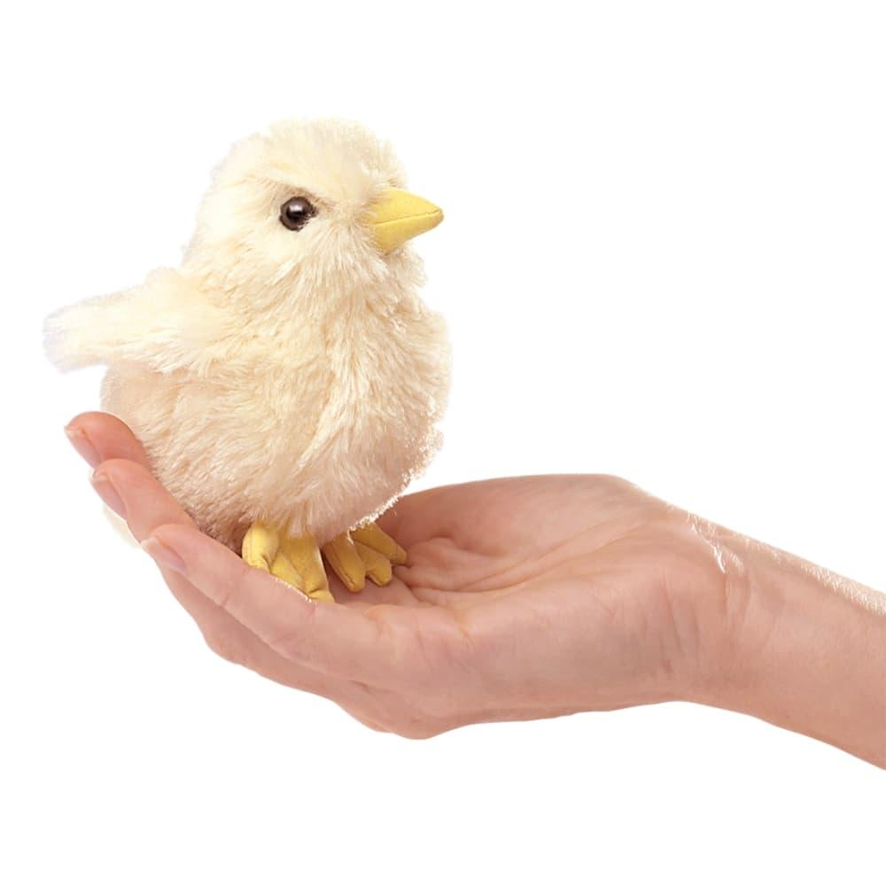 Folkmanis Mini Chick Finger Puppet
