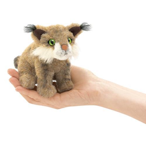 Folkmanis Mini Bobcat Finger Puppet