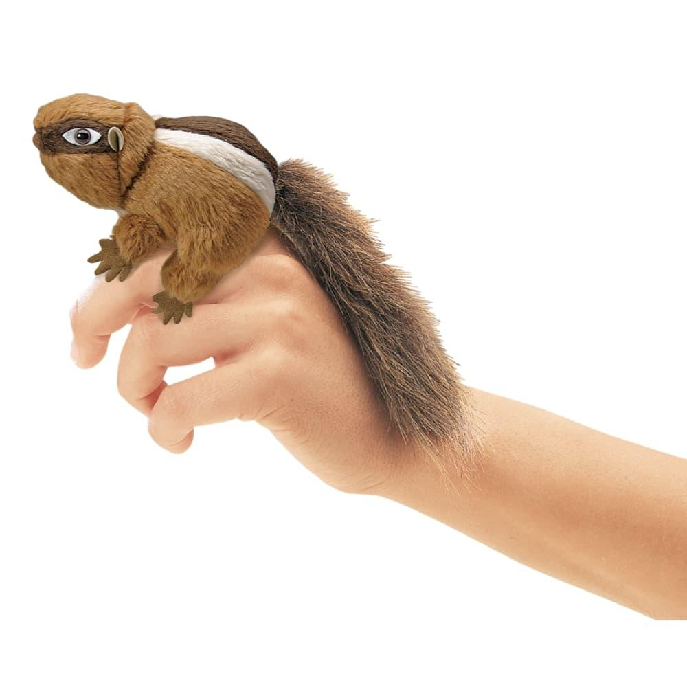 Folkmanis Mini Chipmunk Finger Puppet