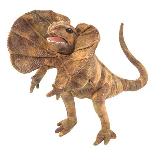 Folkmanis Frilled Lizard Hand Puppet