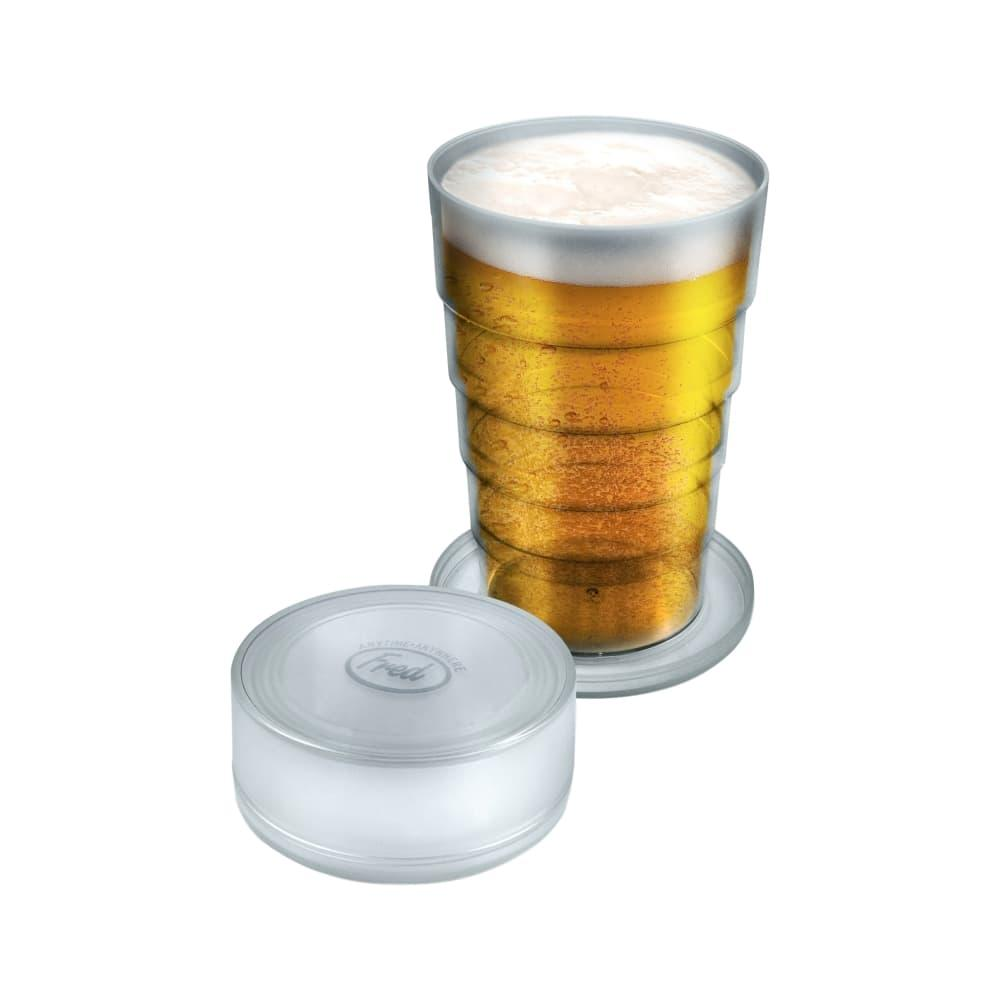 Fred Port- A- Pint Folding Beer Glass