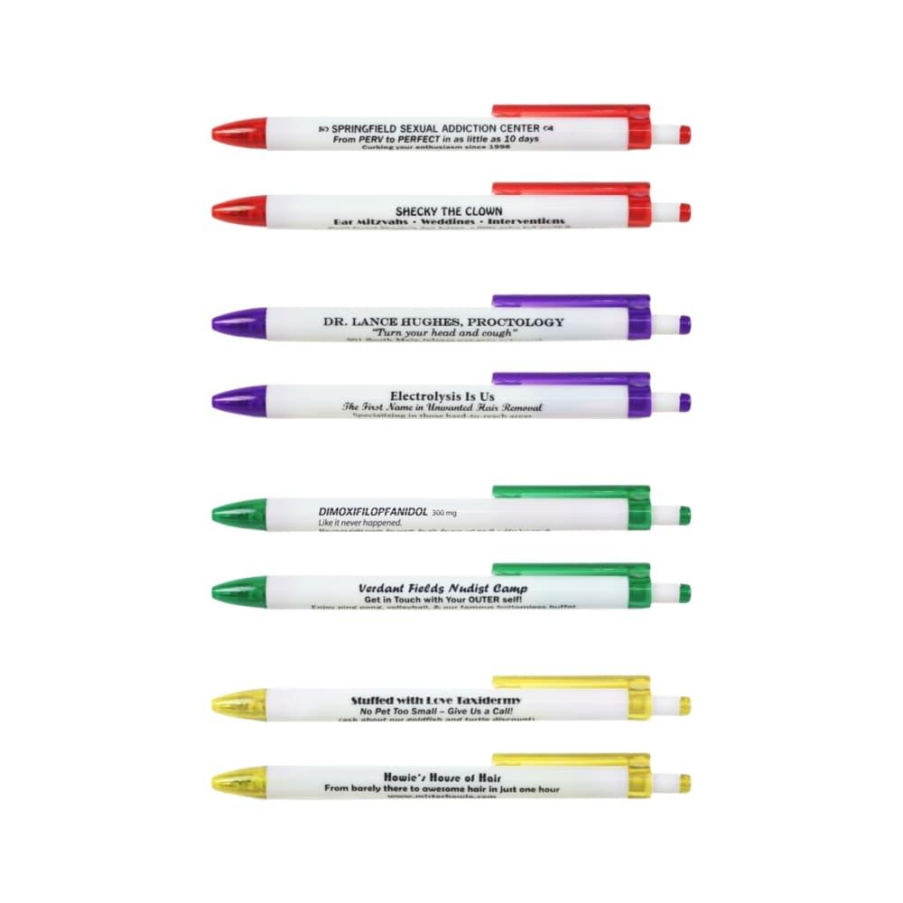 Fred Borrow My Pen Memorable Pens