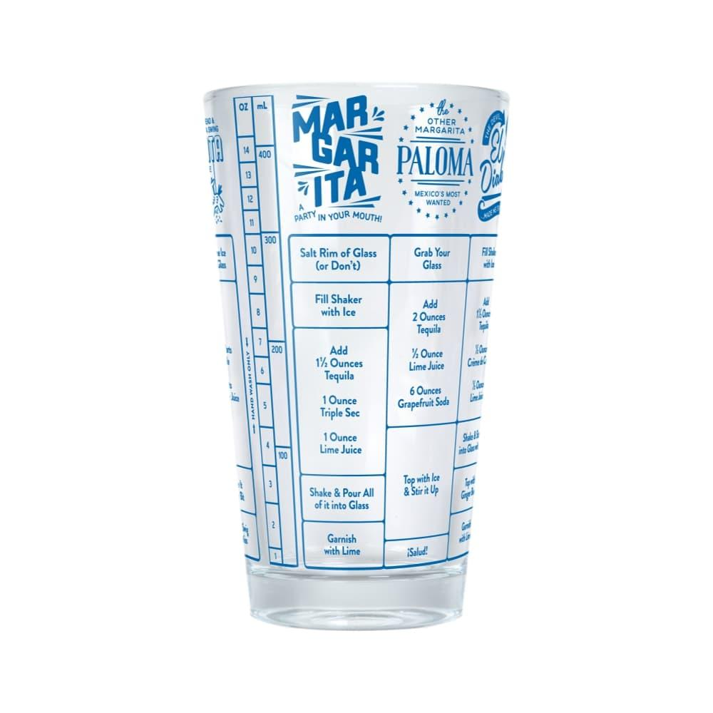 Fred Good Measure Recipe Glass - Tequila