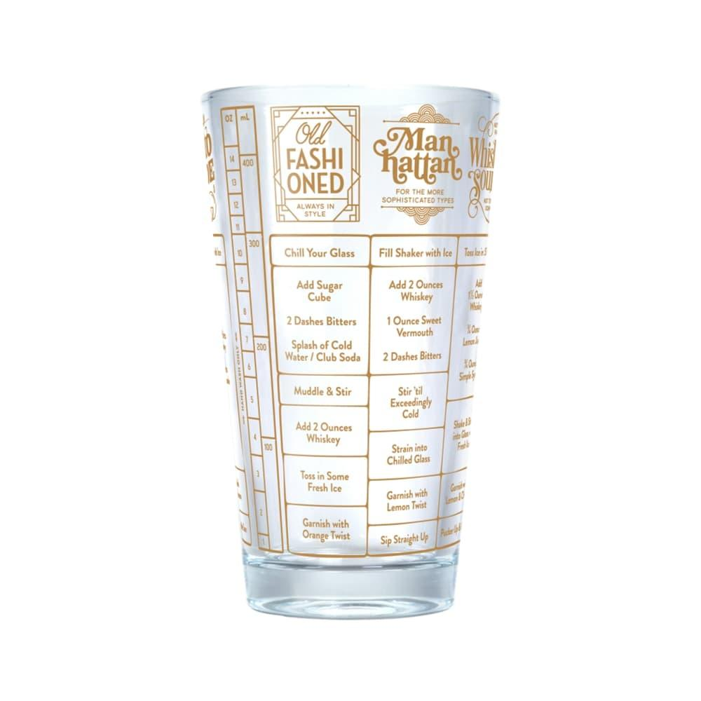 Fred Good Measure Recipe Glass - Whiskey