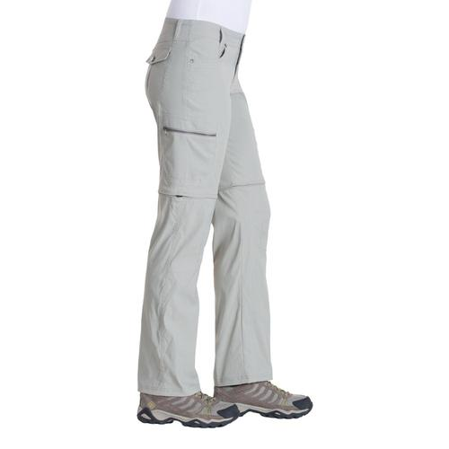 KUHL Women's Kliffside Convertible Pants - 32in Khaki
