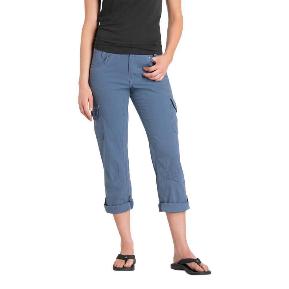 KUHL Women's Splash Roll Up Pants - 32in SLATEBLUE