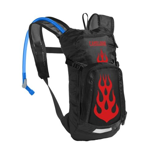 CamelBak Kids Mini M.U.L.E. Hydration Pack Blkflame