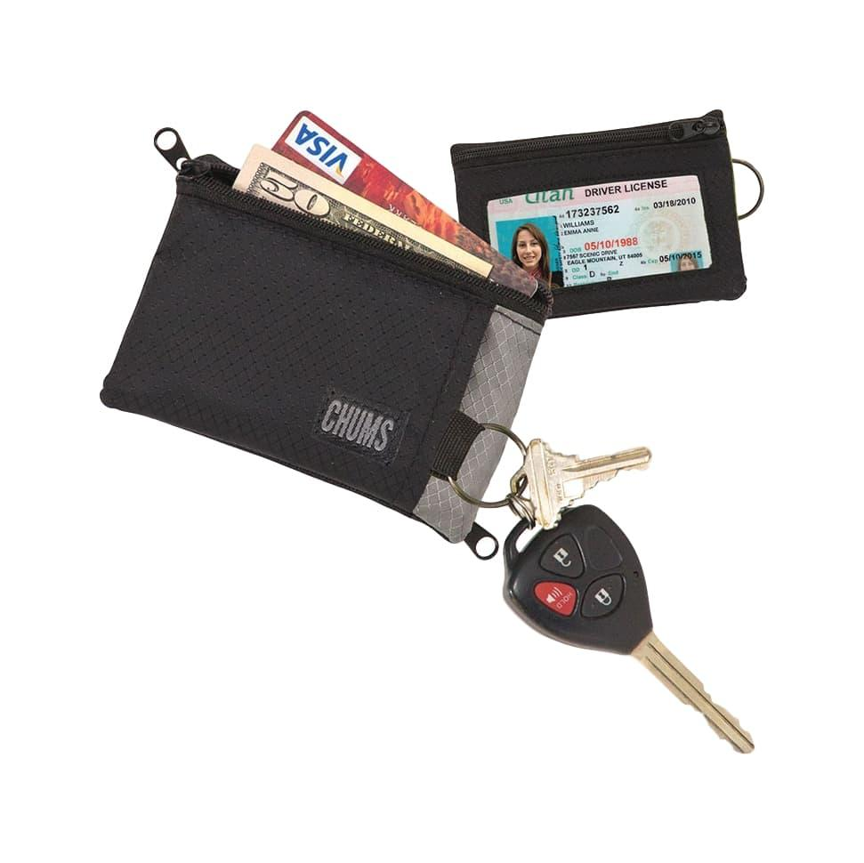 Chums Surfshorts Wallet BLACK