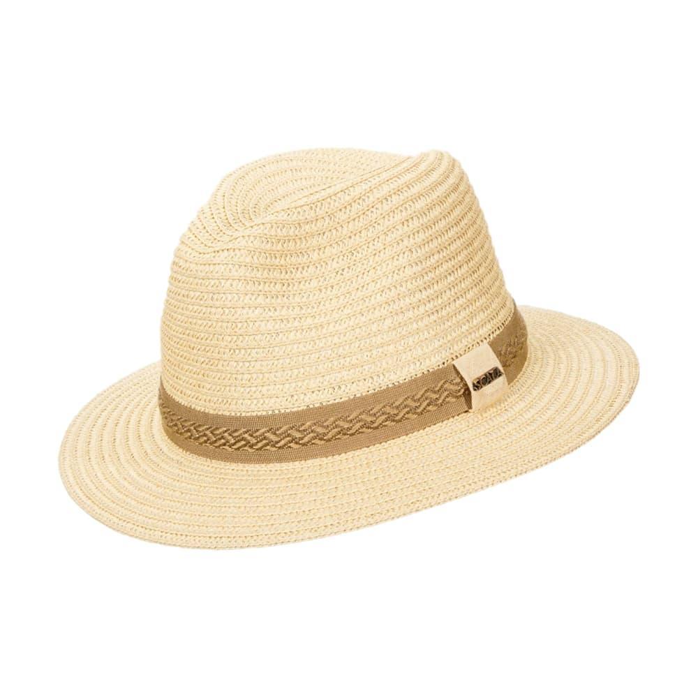 Dorfman Pacific Men's Raffia Outback Hat NATURAL