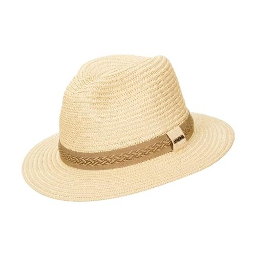 Dorfman Pacific Men's Raffia Outback Hat NATURAL