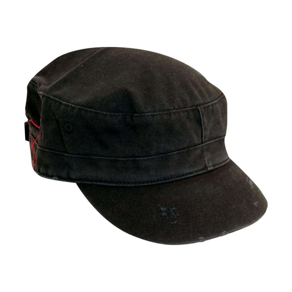 Dorfman Pacific Men's Twill Cadet Cap BLACK