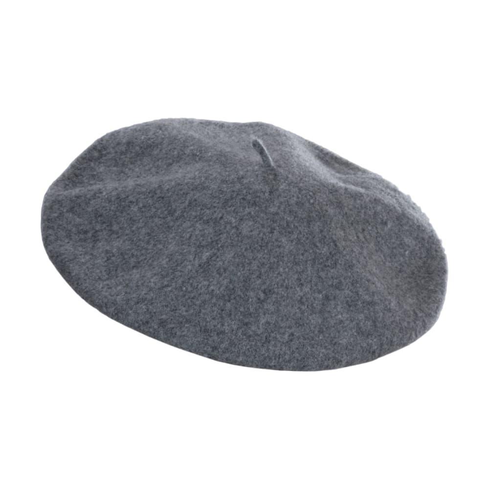 Dorfman Pacific Unisex Wool Beret LT.GREY