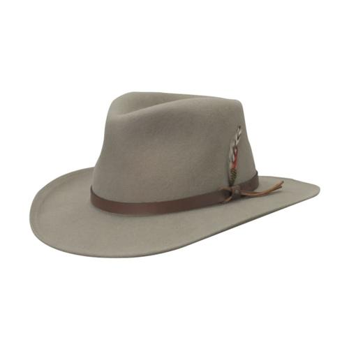 Dorfman Pacific Men's Crushable Outback Hat PUTTY