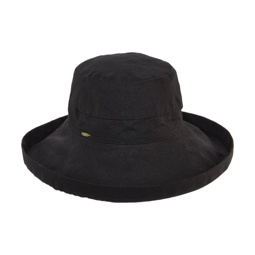 Dorfman Pacific Women's Big Brim Bucket Hat BLACK