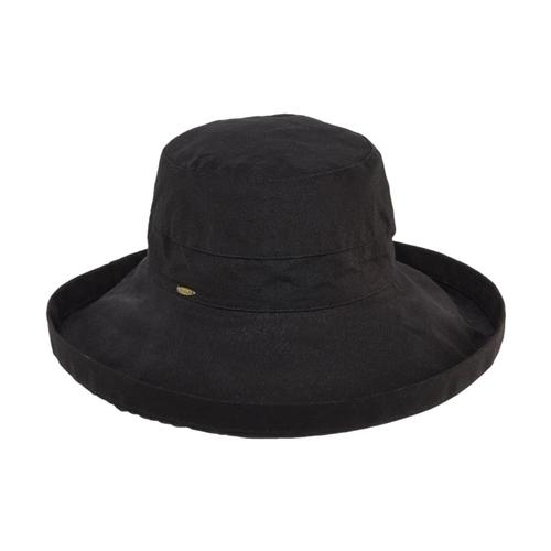 Dorfman Pacific Women's Big Brim Bucket Hat BLACK