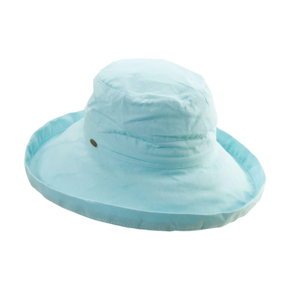 Dorfman Pacific Women's Big Brim Bucket Hat SEAGLASS