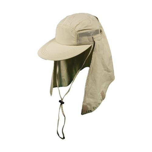 Dorfman Pacific Men's Mesh Sided Fishing Cap KHAKI