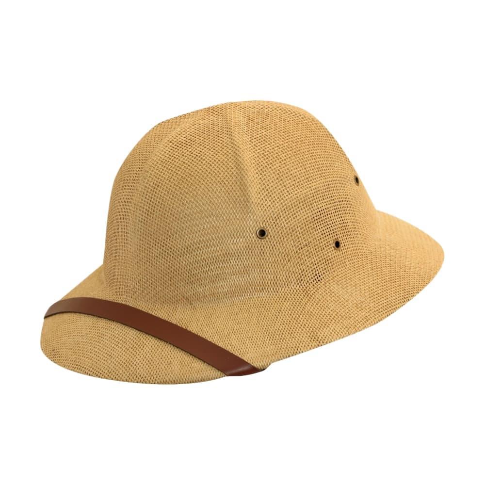 Dorfman Pacific Men's Toyo Pith Helmet TAN