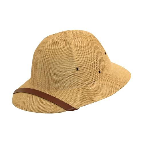 Dorfman Pacific Men's Toyo Pith Helmet TAN