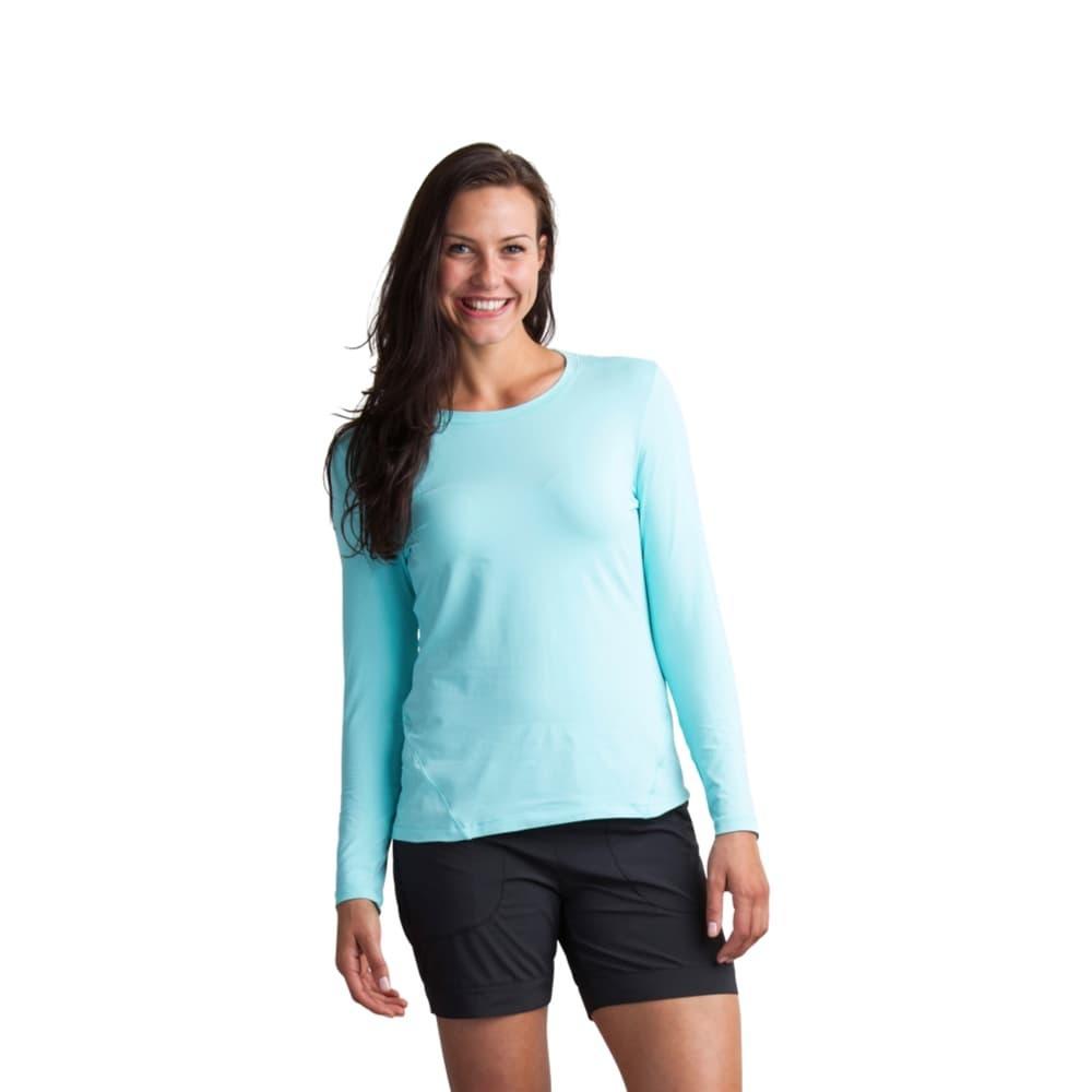 ExOfficio Women's BugsAway Lumen Long-Sleeved Shirt ARUBA