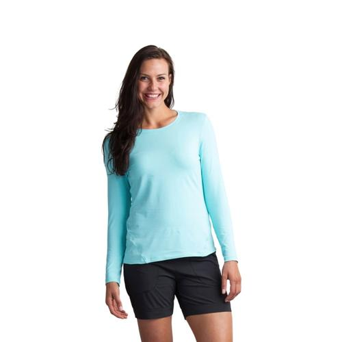 ExOfficio Women's BugsAway Lumen Long-Sleeved Shirt ARUBA