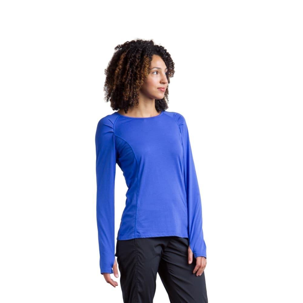 ExOfficio Women's BugsAway Lumen Long-Sleeved Shirt CAPRIBLUE