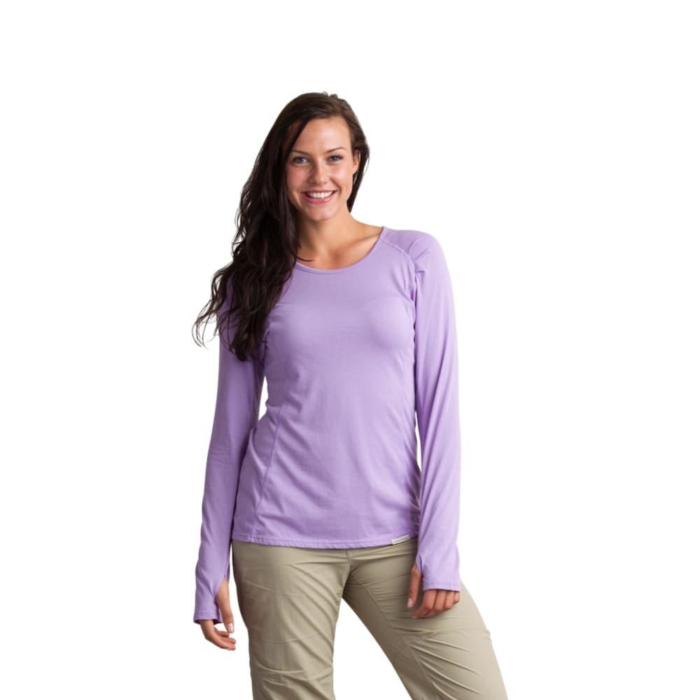 ExOfficio Women's BugsAway Lumen Long-Sleeved Shirt LUPINE