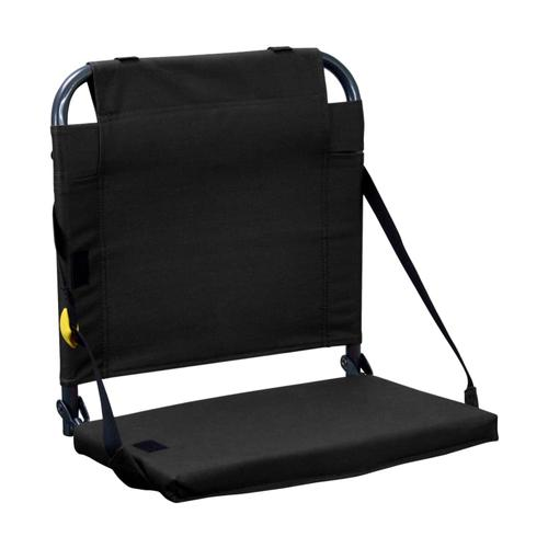 GCI Outdoor Bleacherback Stadium Seat BLACK