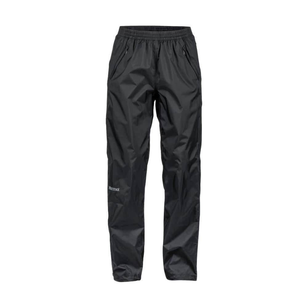 Marmot Women's Precip Full Zip Pant - Reg BLACK_001